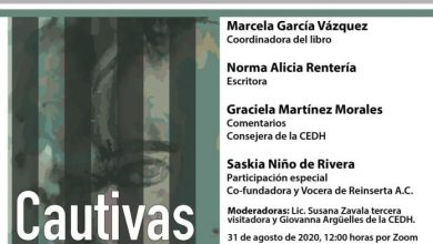 "Photo of IMES INVITA A PRESENTACIÓN VIRTUAL DEL LIBRO ""CAUTIVAS, ESCRITURA CARCELARIA"""