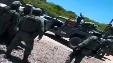 Photo of Difunden video de supuesta reunión de sicarios de los 'Chapitos' con militares