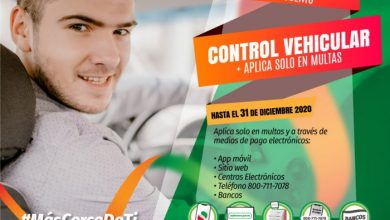 Photo of ULTIMOS DIAS, 50% DE DESCUENTO EN MULTAS DE CONTROL VEHICULAR