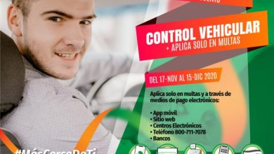 Photo of 50% DE DESCUENTO EN MULTAS DE CONTROL VEHICULAR