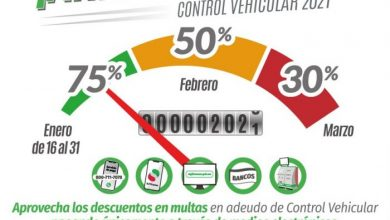 Photo of ANUNCIA SEFIN DESCUENTOS EN MULTAS DE CONTROL VEHICULAR